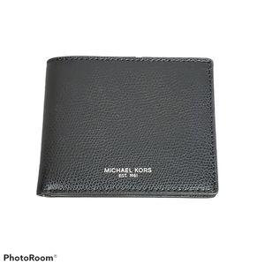 Michael Kors Black Slim Billfold Wallet